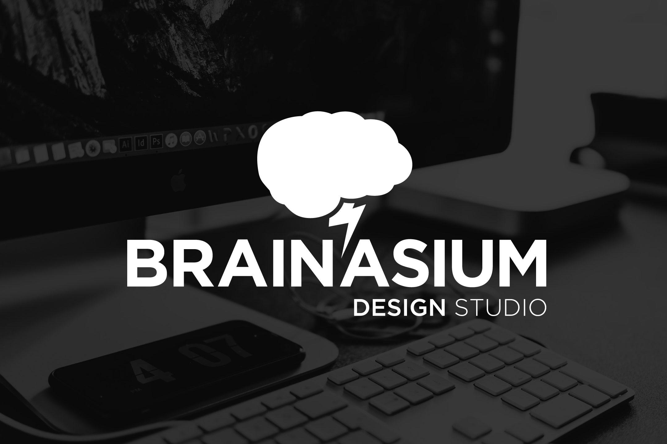 Brainasium Design Logo Primary